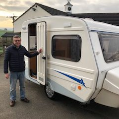 Caravans North customer